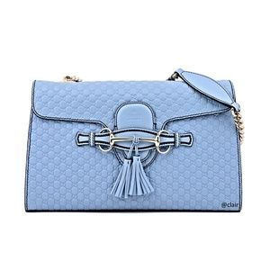 c8dcafceb80 Gucci. Gucci Emily Medium Leather Chain Shoulder Bag. NWT.  1490  1890